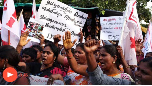 9 osób zabitych po tym, jak policja otworzyła ogień do protestujących przeciwko skażeniom środowiska [INDIE]