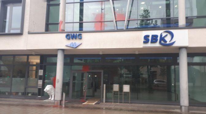 Atak na francuski konsulat w Monachium w akcie solidarności z ZAD NDDL [NIEMCY]