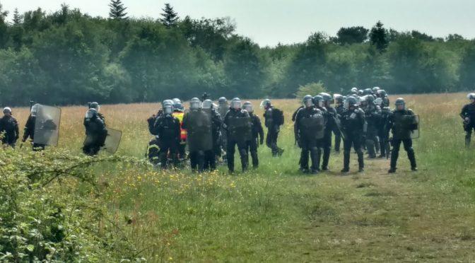Komunikat 'medical team' oraz osób zajmujących się rannymi w ZAD NDDL [FRANCJA]