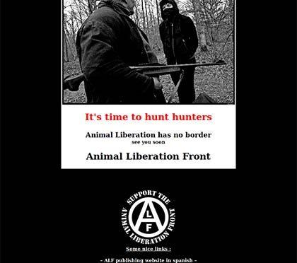Kolejne strony internetowe promujące lub organizujące polowania w Afryce zhakowane!