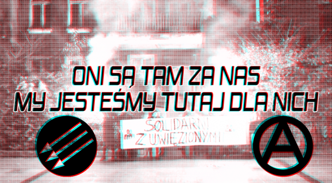 Wesprzyj dwójkę anarchistów skazanych na więzienie za udział w Antykongresie w 2015 roku!