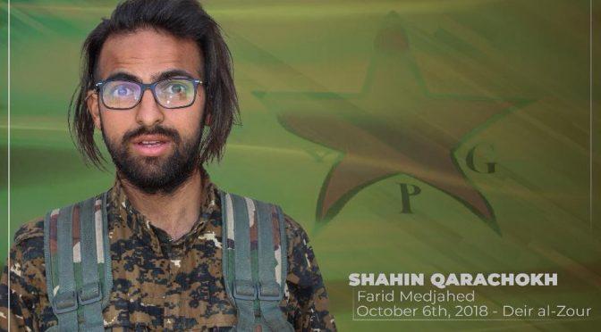 Wiadomość z północnej syrii – nasz przyjaciel poległ